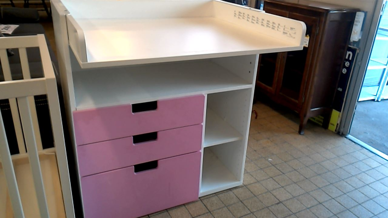Achat TABLE A LANGER IKEA 3 TIROIRS occasion Royan |